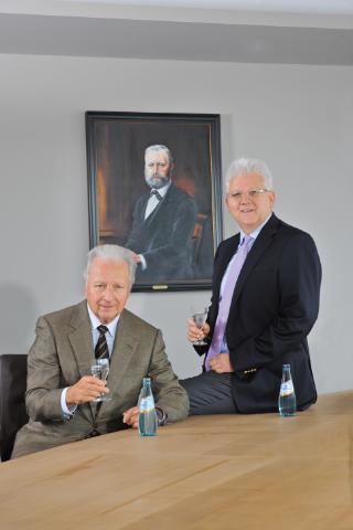 Dirk Hinkel und Günter Hinkel in fünfter Familiengeneration